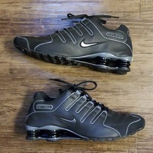 Rare Nike Shox NZ SL Anthracite Running Shoes